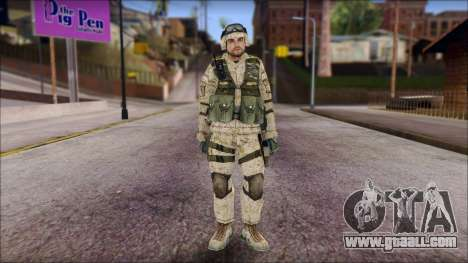 USA Soldier for GTA San Andreas
