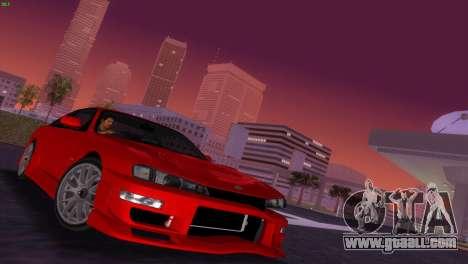 Nissan Silvia S14 RB26DETT Black Revel for GTA Vice City inner view