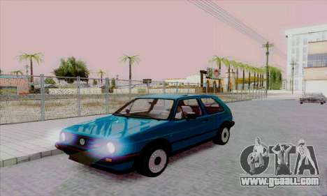 Volkswagen Golf 2 GTi for GTA San Andreas