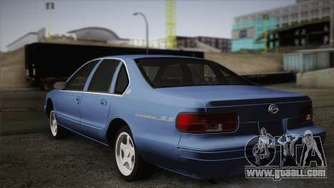 Chevrolet Impala 1996 for GTA San Andreas left view