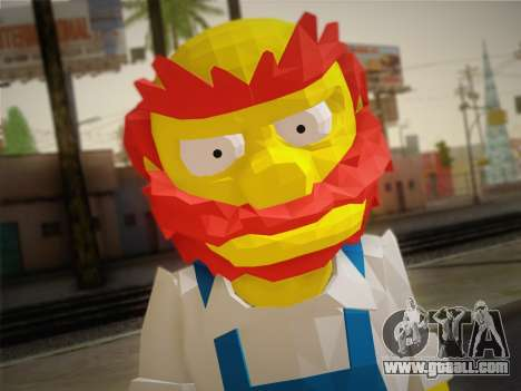 The Groundskeeper Willy From The Simpsons: Road  for GTA San Andreas third screenshot