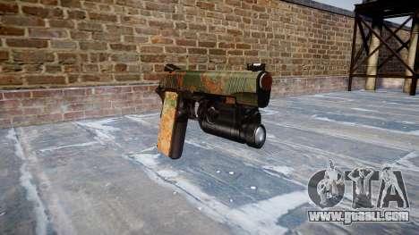 Gun Kimber 1911 Jungle for GTA 4