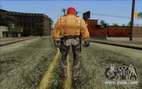 Red Hood from DC Comics for GTA San Andreas second screenshot