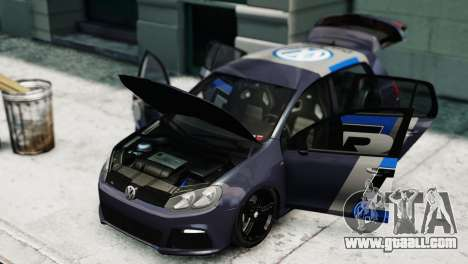 Volkswagen Golf R 2010 Polo WRC Style PJ2 for GTA 4 right view
