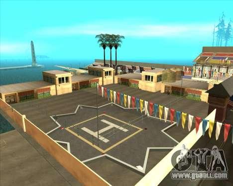 Sky Road Merdeka for GTA San Andreas fifth screenshot