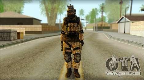 Mercenary (SC: Blacklist) v3 for GTA San Andreas