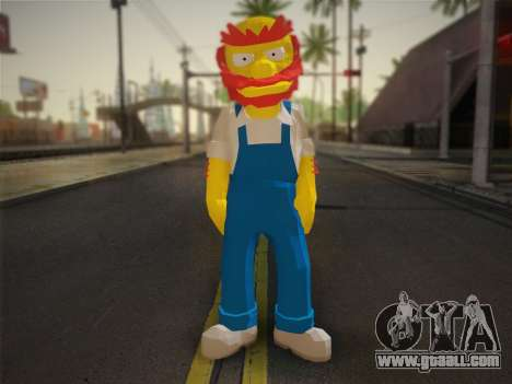 The Groundskeeper Willy From The Simpsons: Road  for GTA San Andreas