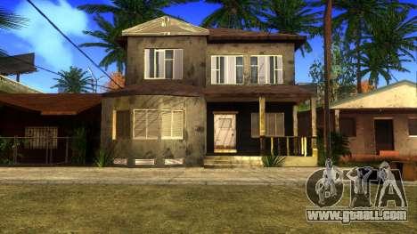 New HD textures houses on grove street v2 for GTA San Andreas eighth screenshot