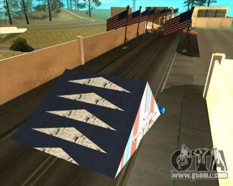 Sky Road Merdeka for GTA San Andreas sixth screenshot