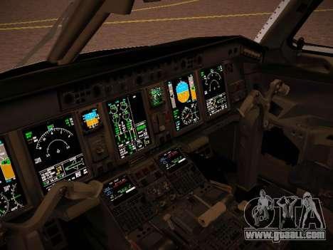 Embraer E190 Azul Brazilian Airlines for GTA San Andreas upper view
