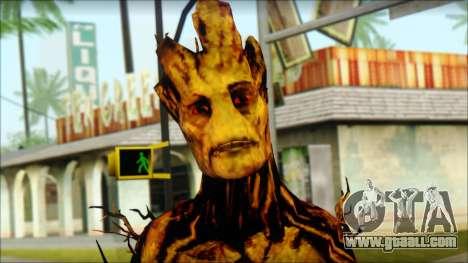 Guardians of the Galaxy Groot v2 for GTA San Andreas third screenshot