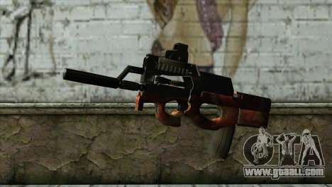 P90 from PointBlank v3 for GTA San Andreas