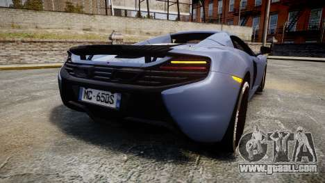 McLaren 650S Spider 2014 [EPM] Michelin v1 for GTA 4 back left view