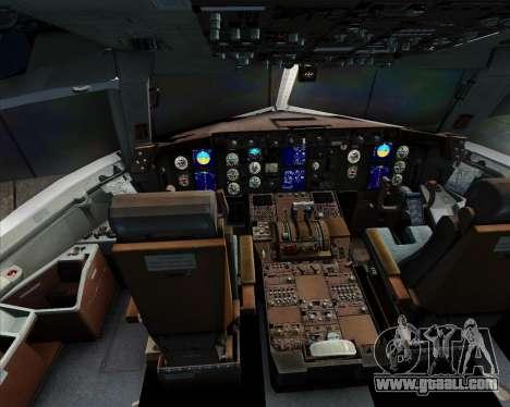 Boeing 767-300ER Qantas for GTA San Andreas interior