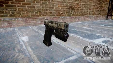 Pistol Glock 20 ghotex for GTA 4