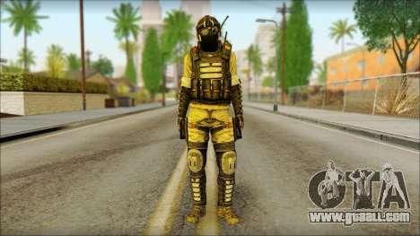 Mercenary (SC: Blacklist) v1 for GTA San Andreas