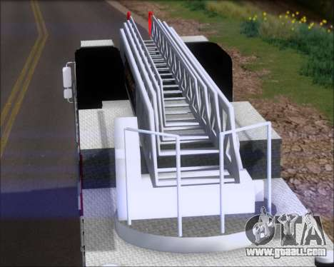 Pierce Arrow XT TFD Ladder 1 for GTA San Andreas back left view