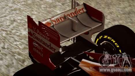 Ferrari F138 v2 for GTA 4 side view