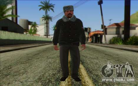 Police In Russia's Skin 2 for GTA San Andreas