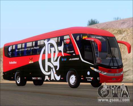 Marcopolo Paradiso 1200 G7 4X2 C.R.F Flamengo for GTA San Andreas back left view