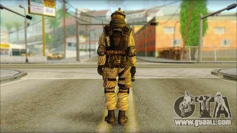 Mercenary (SC: Blacklist) v3 for GTA San Andreas second screenshot
