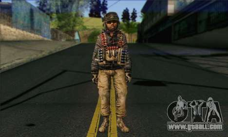 Task Force 141 (CoD: MW 2) Skin 16 for GTA San Andreas