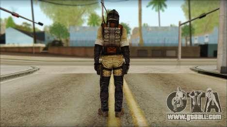 Mercenary (SC: Blacklist) v1 for GTA San Andreas second screenshot