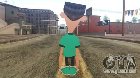 Sheen from Jimmy Neutron for GTA San Andreas second screenshot