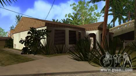 New HD textures houses on grove street v2 for GTA San Andreas tenth screenshot