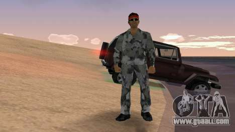 Camo Skin 18 for GTA Vice City
