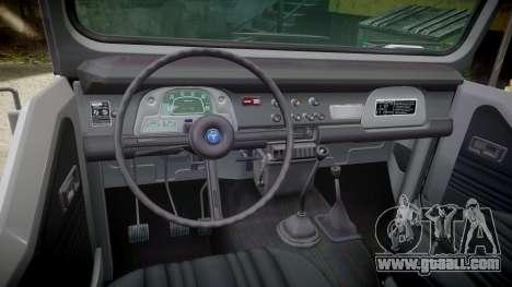 Toyota FJ40 Land Cruiser Soft Top 1978 for GTA 4 inner view