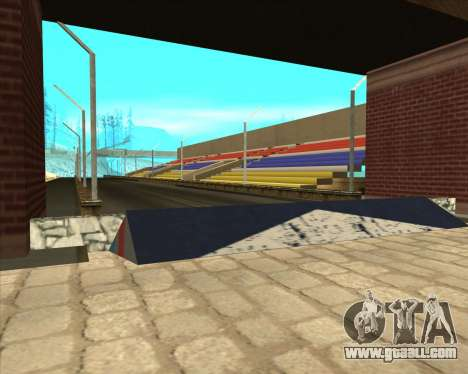 Sky Road Merdeka for GTA San Andreas second screenshot
