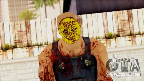 Manhunt Ped 15 for GTA San Andreas third screenshot