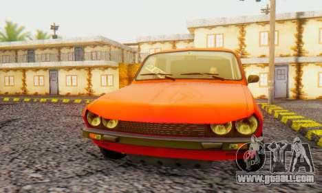Dacia 1300 Tuned for GTA San Andreas left view