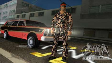Camo Skin 08 for GTA Vice City