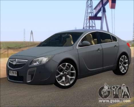 Opel Insignia OPC for GTA San Andreas