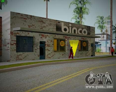 Broken Binco store for GTA San Andreas third screenshot