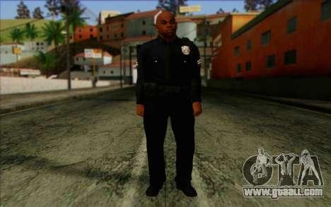 Police (GTA 5) Skin 3 for GTA San Andreas