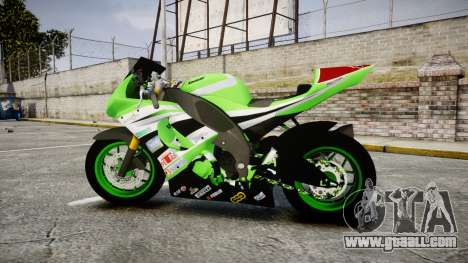 Kawasaki Ninja ZX-10R for GTA 4 left view