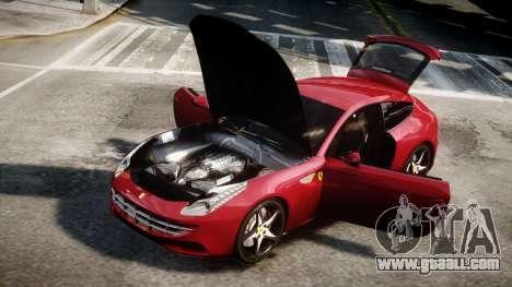 Ferrari FF 2011 v1.5 for GTA 4 back left view