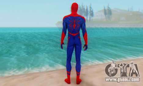 Skin The Amazing Spider Man 2 - Nueva Era for GTA San Andreas third screenshot