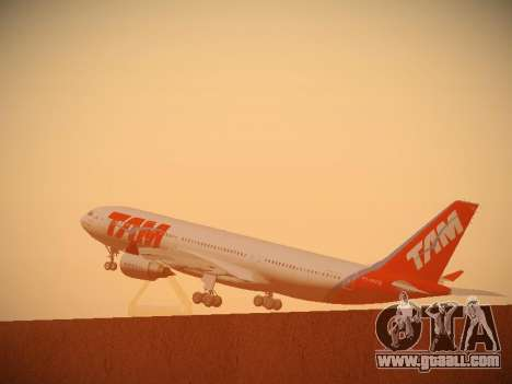 Airbus A330-200 TAM Airlines for GTA San Andreas interior
