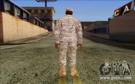 California National Guard Skin 5 for GTA San Andreas second screenshot