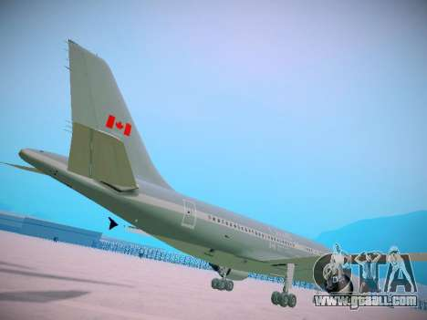Canadian Forces Airbus CC150 Polaris for GTA San Andreas back view