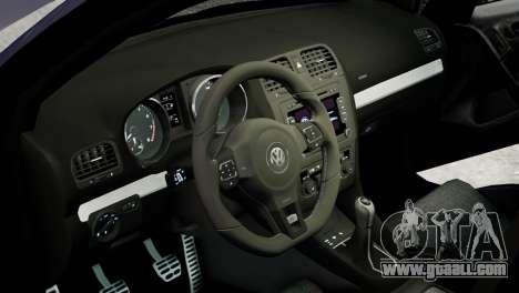 Volkswagen Golf R 2010 Polo WRC Style PJ2 for GTA 4 inner view