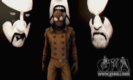 Skin The Amazing Spider Man 2 - DLC Noir for GTA San Andreas sixth screenshot