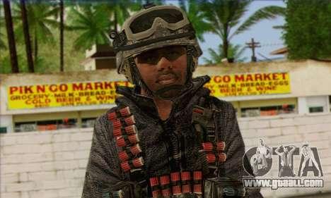 Task Force 141 (CoD: MW 2) Skin 4 for GTA San Andreas third screenshot