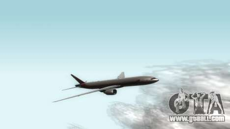 Boeing 777-280ER Asiana Airlines for GTA San Andreas left view