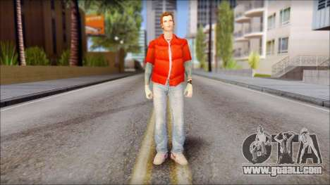 Marty with Vest 1985 for GTA San Andreas