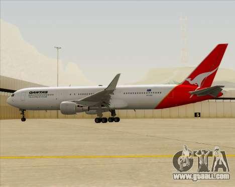 Boeing 767-300ER Qantas for GTA San Andreas